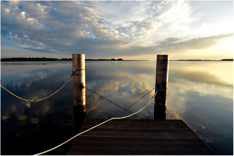 Bootssteg - Baltic sea