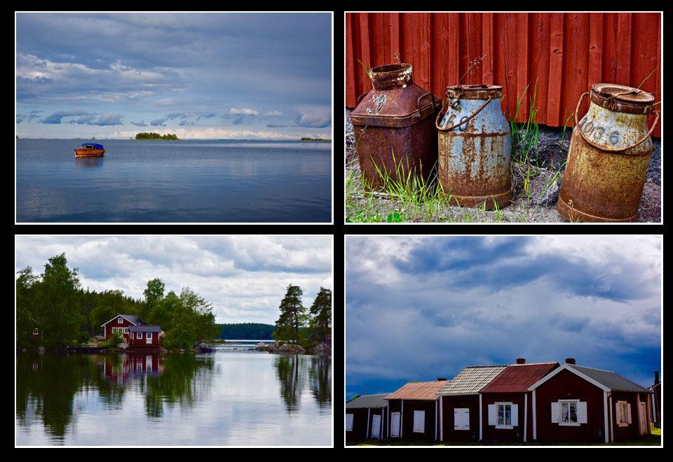Travel Sweden (Schweden) Fotomontage